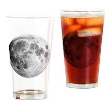 Full Moon Lunar Globe Drinking Glass