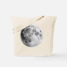 Full Moon Lunar Globe Tote Bag