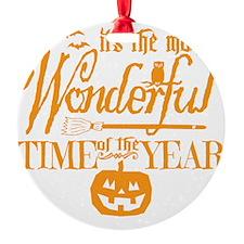 Most Wonderful (orange) Ornament