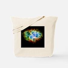 Crab Nebula Star Cloud Tote Bag