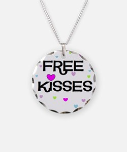 Free Kisses Necklace