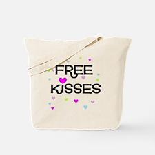 Free Kisses Tote Bag