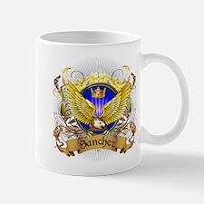 Sanchez Family Crest Mug