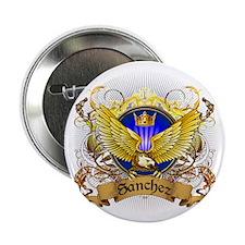 """Sanchez Family Crest 2.25"""" Button"""