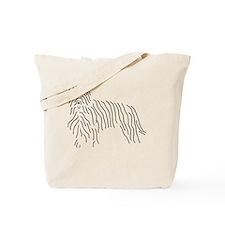Briard Sketch Tote Bag