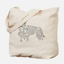 Briard Sketch Tote Bag