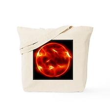 Sun Sol Star Sphere Tote Bag
