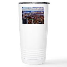 Central Park in Autumn, Travel Mug
