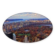 Central Park in Autumn, A view from Decal