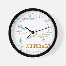 Australia Home Wall Clock