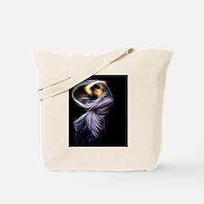 Boreas Waterhouse Fractal Digital Paintin Tote Bag