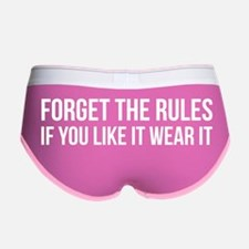 Forget the rules Women's Boy Brief