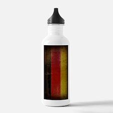 Vintage Germany Flag Water Bottle