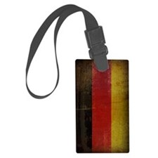 Vintage Germany Flag Luggage Tag