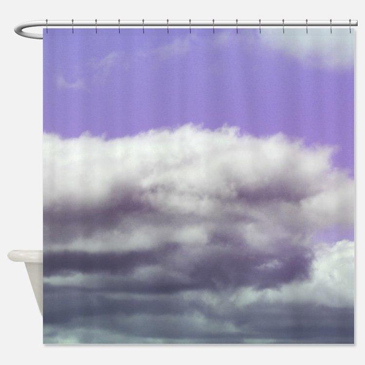 Vintage Purple Sky Clouds Day Time Photo Photograp