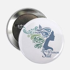 "Woman Who Sail Logo 2.25"" Button"