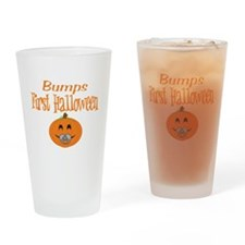 Babys First Halloween Drinking Glass