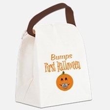 Babys First Halloween Canvas Lunch Bag
