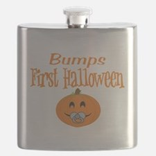 Babys First Halloween Flask