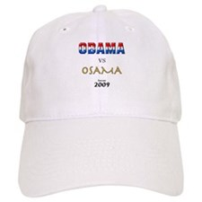 Obama VS Osama Baseball Cap
