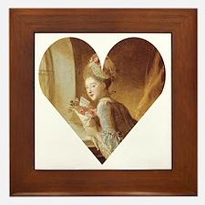 Love letter light up my day Jean Honor Framed Tile