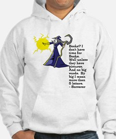 Sorcerer and books Jumper Hoodie
