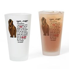 Druid/Bear Drinking Glass