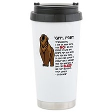 Druid/Bear Travel Mug
