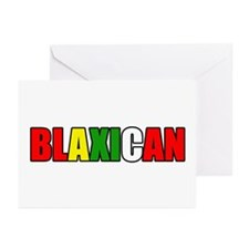 Blaxican Greeting Cards (Pk of 10)