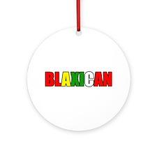 Blaxican Ornament (Round)