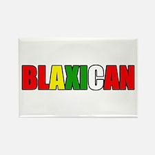 Blaxican Rectangle Magnet
