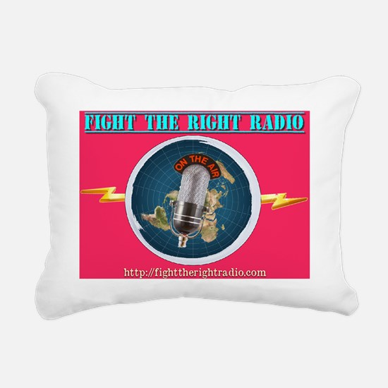 Fight The Right Rectangular Canvas Pillow