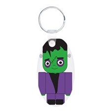 Young Frankenstein Aluminum Oval Keychain