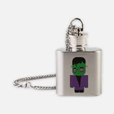 Young Frankenstein Flask Necklace