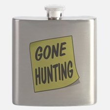 SIGN - HUNTING Flask