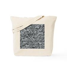 Wavy Lines Tote Bag