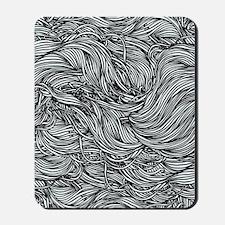 Wavy Lines Mousepad