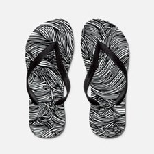 Wavy Lines Flip Flops
