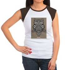 meowl-LG Women's Cap Sleeve T-Shirt