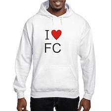 Unique I love fc Hoodie