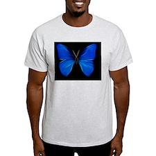 Blue Butterfly Fractal T-Shirt