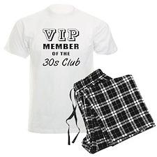 30's Club Birthday Pajamas