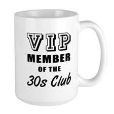 30's Club Birthday Mug