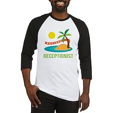 Retired Receptionist Baseball Jersey