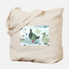 Ducks Tote Bag