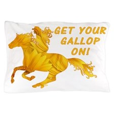 Horse Gallop On Pillow Case