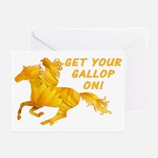 Horse Gallop On Greeting Cards (Pk of 20)