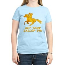 Horse Gallop On T-Shirt