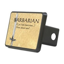Barbarian Can I Kill Them  Hitch Cover