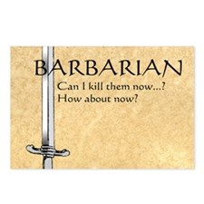 Barbarian Can I Kill Them Postcards (Package of 8)
